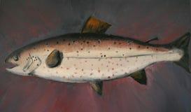 fisketrofé Arkivfoto