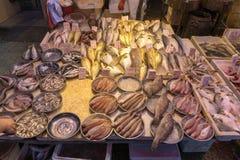 Fiskgatamarknad Fotografering för Bildbyråer