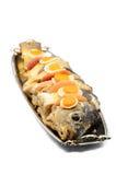 fiskgefilte royaltyfri foto