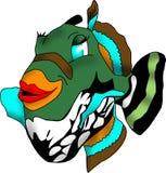 fiskguineafowlpuffer Arkivfoto