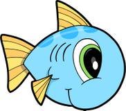 fiskillustrationvektor vektor illustrationer