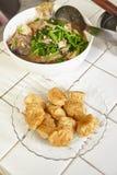 Fiskkaka och fisksoppa Royaltyfri Foto