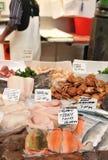 fiskmarknad Arkivfoton