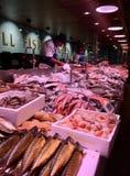 Fiskmarknad i kork, Irland arkivbild