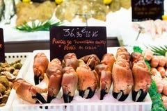 Fiskmarknad i Trouville royaltyfri fotografi