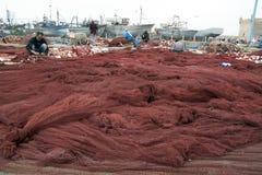 Fiskmarknad - Marocko Arkivfoton