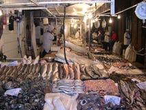 Fiskmarknad, Santiago de Chile Royaltyfri Foto