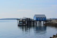 Fiskmarknad, Sidney, British Columbia, Kanada Royaltyfri Fotografi