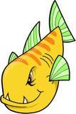 fiskmedel stock illustrationer