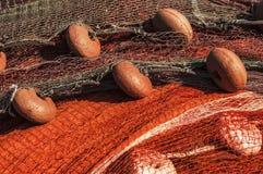 Fisknät Fotografering för Bildbyråer