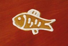 fiskpepparkaka royaltyfri fotografi