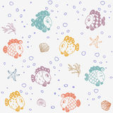 Fiskrealitet Royaltyfria Bilder