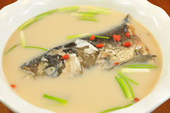 Fisksoup Arkivfoto
