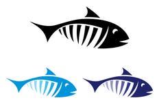 Fisksymbol Royaltyfri Foto