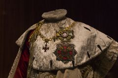 Fiskus des Habsburger-Dynastie Museum Hofburg-Palastes in Wien Österreich lizenzfreie stockfotografie