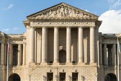 Fiskusgebäude in der Mitte von Washington-DC Stockfoto