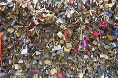 Fissa un ponte a Parigi Fotografie Stock