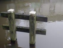 Fissi il canale olandese Fotografia Stock