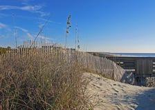 Fissi la duna di sabbia Fotografia Stock