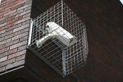 Fissi la videocamera di sicurezza Fotografia Stock