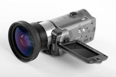 Fissi la videocamera portatile digitale Fotografie Stock Libere da Diritti