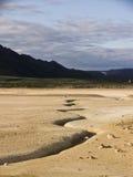 Fissure de plaque tectonique Photo libre de droits