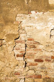 Fissure in the wall Royalty Free Stock Images