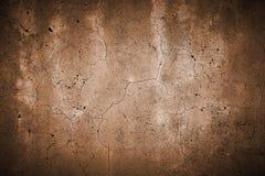 Fissured бондарь бетонной стены Стоковое Изображение RF