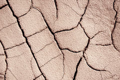 Fissured surface land it occupies the whole picture to be used a Royalty Free Stock Photo