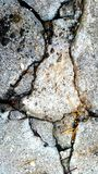 fissures Images stock