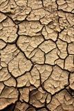 Fissures au sol Photo libre de droits
