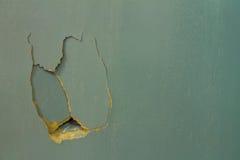 Fissures dans le contreplaqué Photos stock