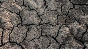 Fissures de texture dans la terre Photos libres de droits