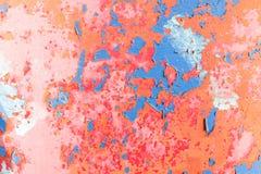 Fissures de vieille peinture Image libre de droits