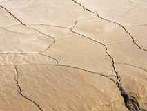 Fissures on the earth Royalty Free Stock Photos