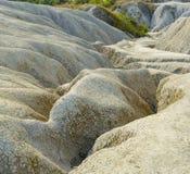 Fissures très grandes et profondes de sol Image stock