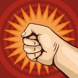 Fist 02 royalty free illustration