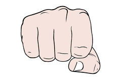 Fist Stock Photography
