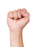 Fist. Royalty Free Stock Photography