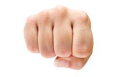 Fist Royalty Free Stock Photography