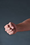 Fist of Anger. The fist of anger is rage waiting to explode Stock Images