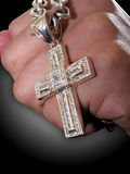 Fist and the Bling Cross Stock Photo