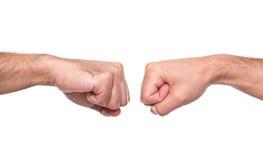 Fist bump Stock Image