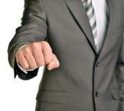 Fist businessman Royalty Free Stock Photos