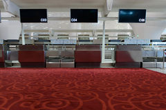 Fist class check-in area Royalty Free Stock Image