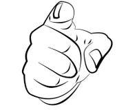 Fist, finger Stock Image