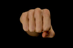 Fist of fury Royalty Free Stock Photo