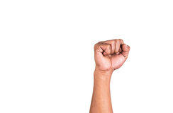 Fist hand gestures Royalty Free Stock Image