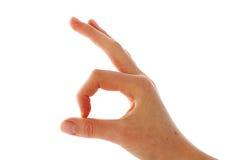 fist hand signal Стоковое Изображение
