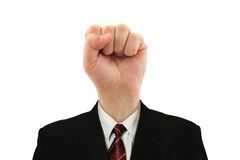 Fist for head Royalty Free Stock Photo